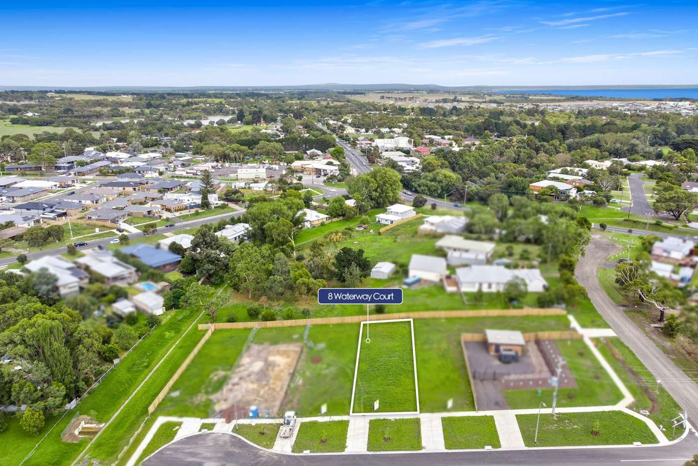 Main view of Homely residentialLand listing, 8 Waterway Court, Drysdale VIC 3222