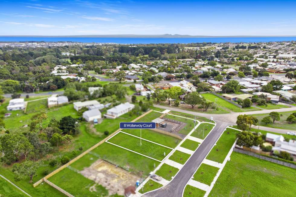 Fourth view of Homely residentialLand listing, 8 Waterway Court, Drysdale VIC 3222
