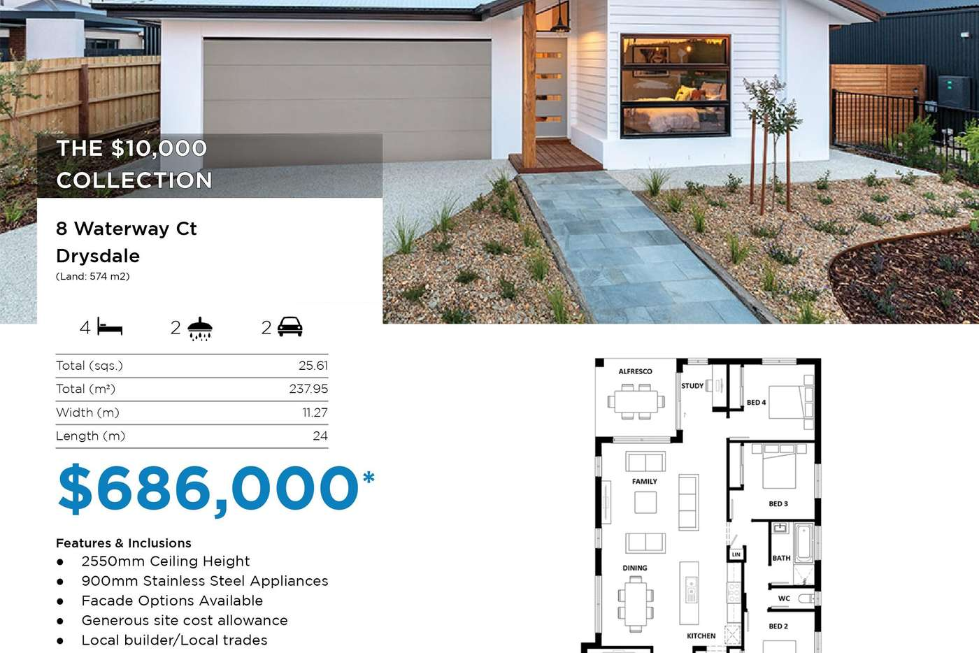 Sixth view of Homely residentialLand listing, 8 Waterway Court, Drysdale VIC 3222