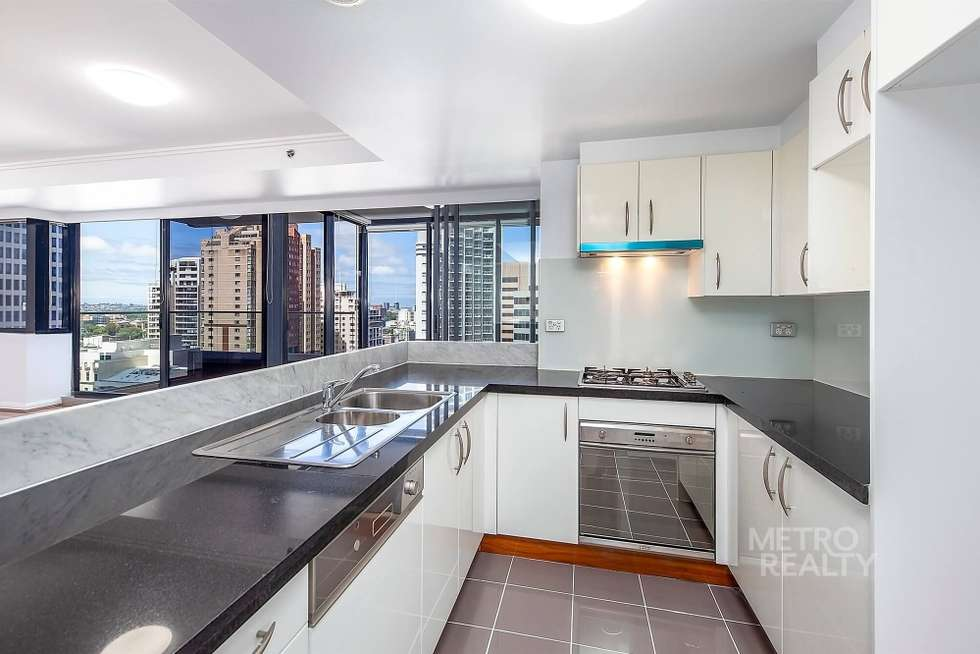 Second view of Homely apartment listing, 3402/91 Liverpool Street, Sydney NSW 2000