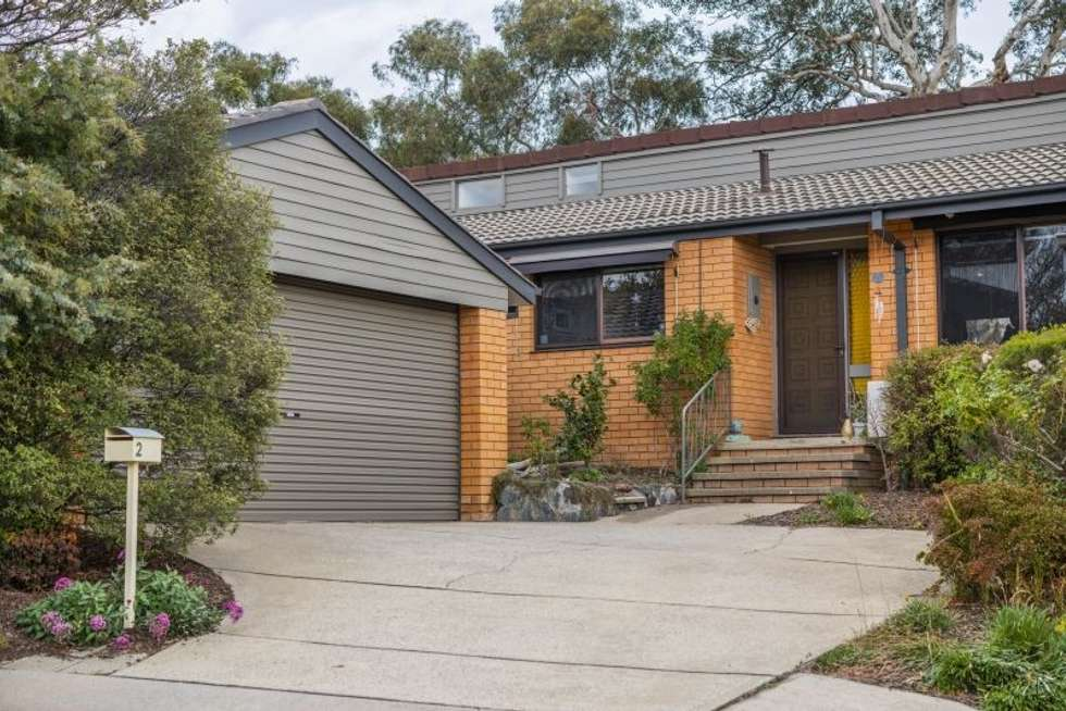 Second view of Homely townhouse listing, 2/2 Hodgson Place, Pearce ACT 2607