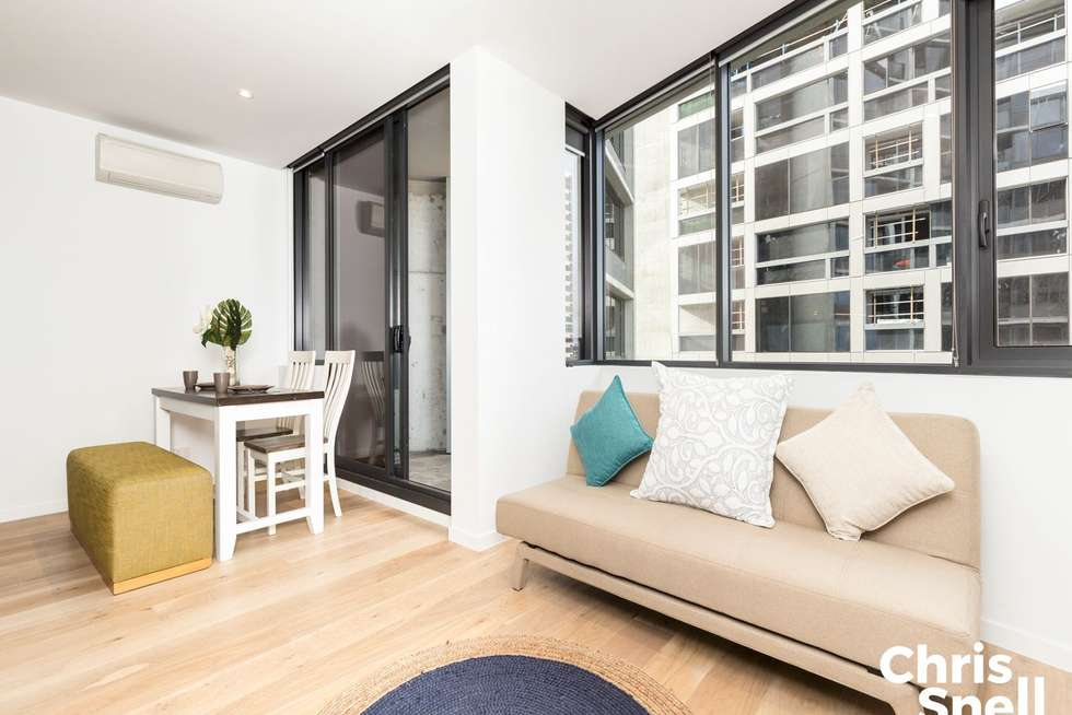 Second view of Homely apartment listing, 4501/33 Rose Lane, Melbourne VIC 3000
