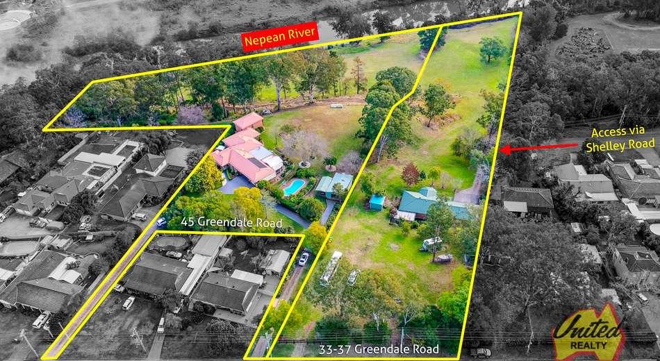 33-37 & 45 Greendale Road, Wallacia NSW 2745