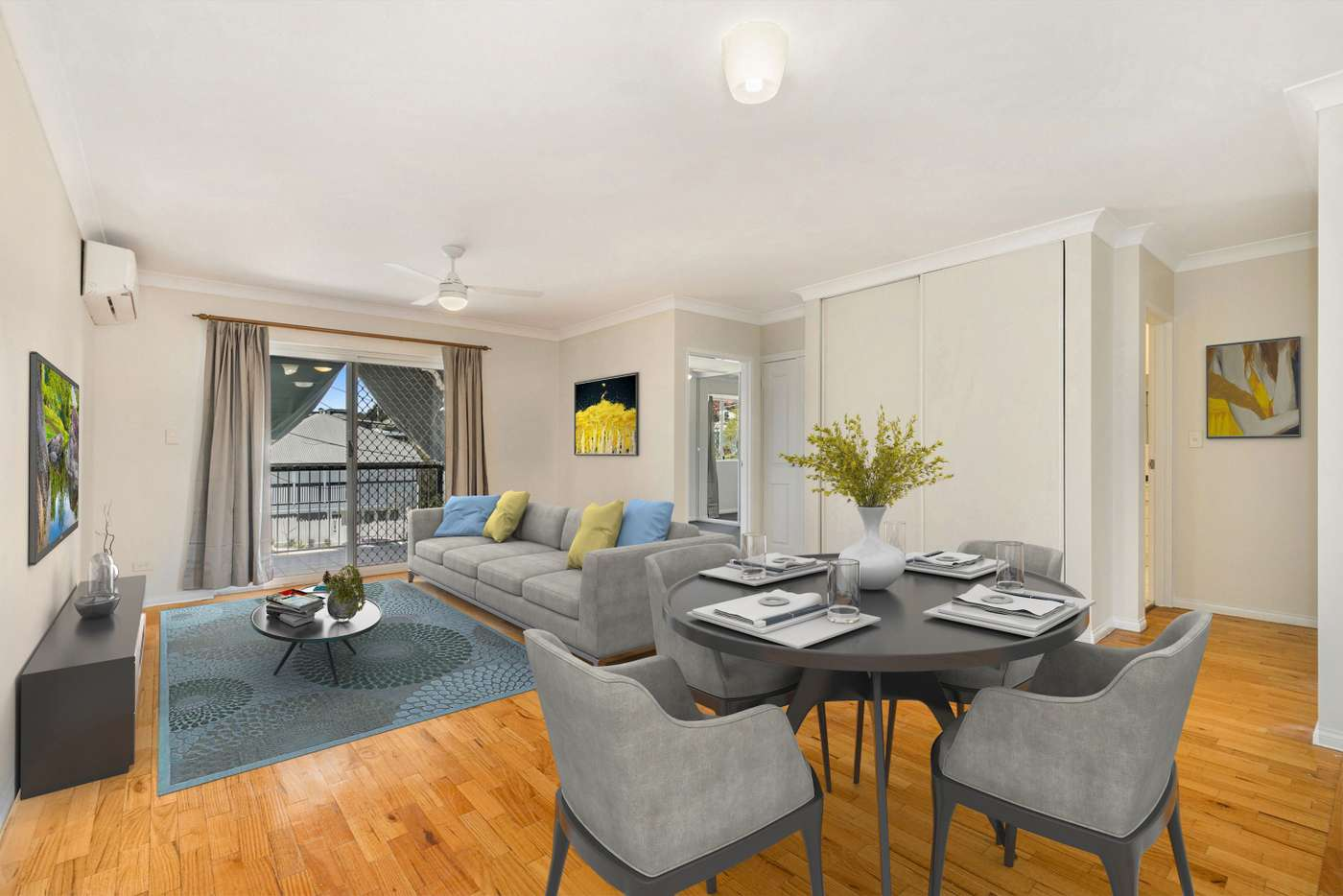 Main view of Homely apartment listing, 3/9 North Street, Newmarket QLD 4051