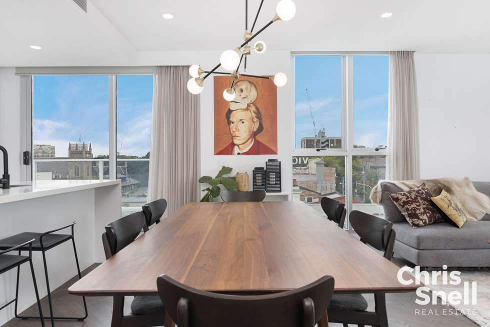 Third view of Homely apartment listing, 401/42 Ralston Street, South Yarra VIC 3141