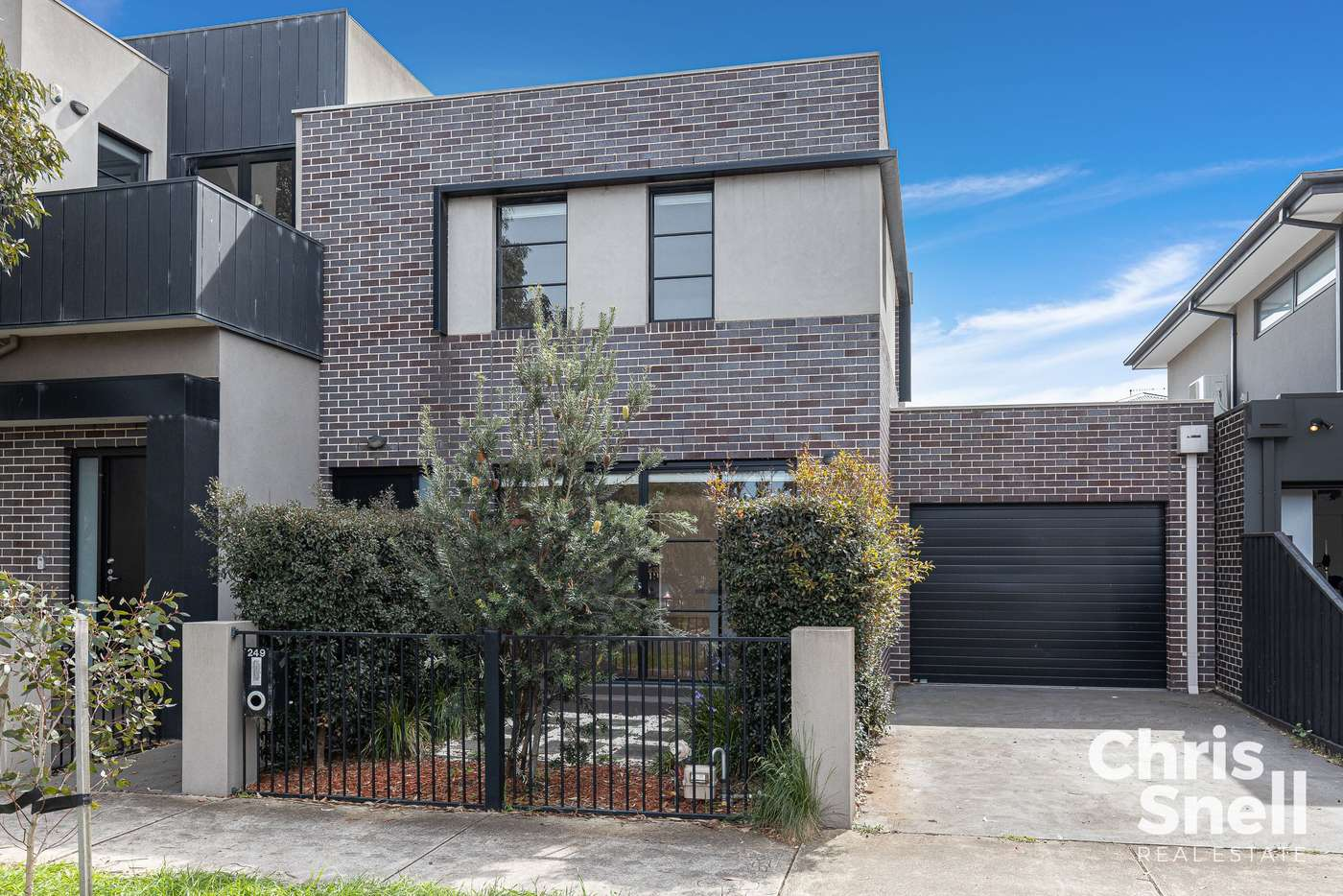 Main view of Homely townhouse listing, 249 Edward Street, Brunswick East VIC 3057