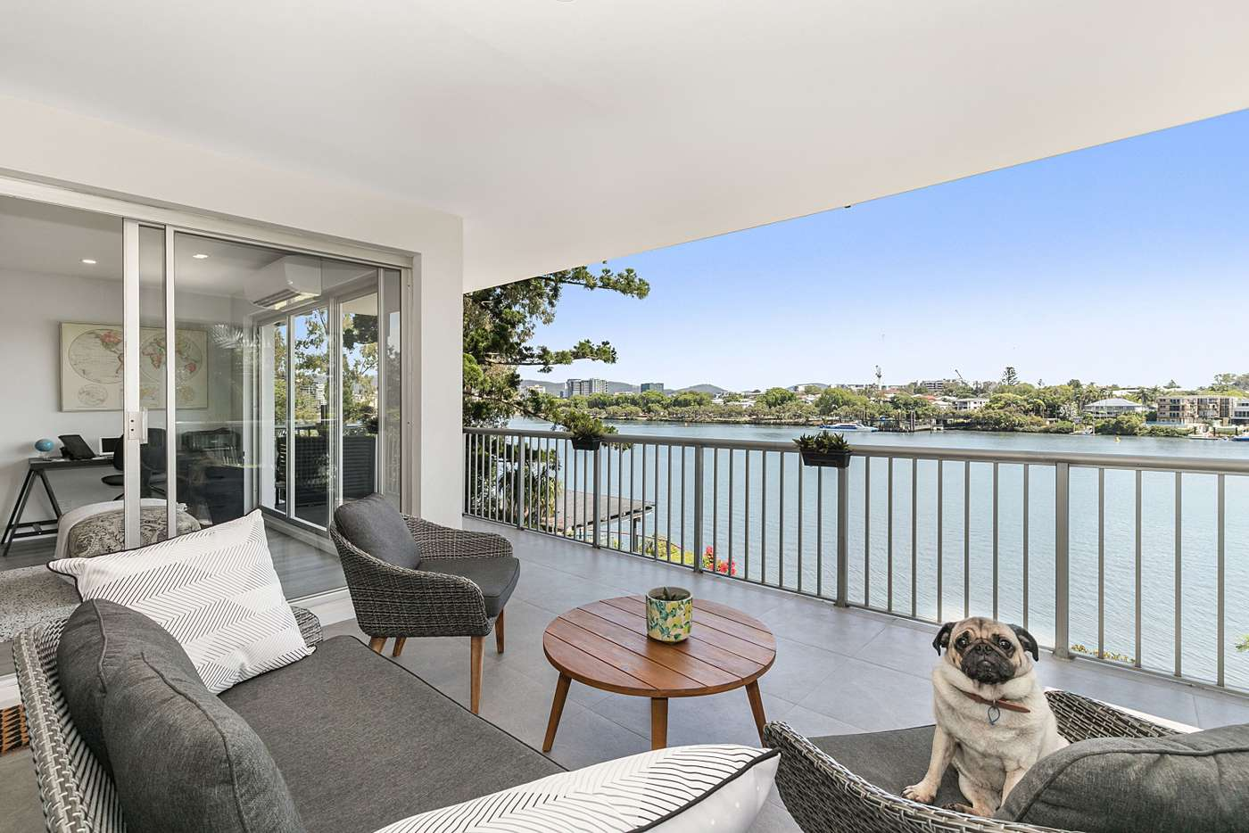 Main view of Homely apartment listing, 6/82 Macquarie Street, St Lucia QLD 4067