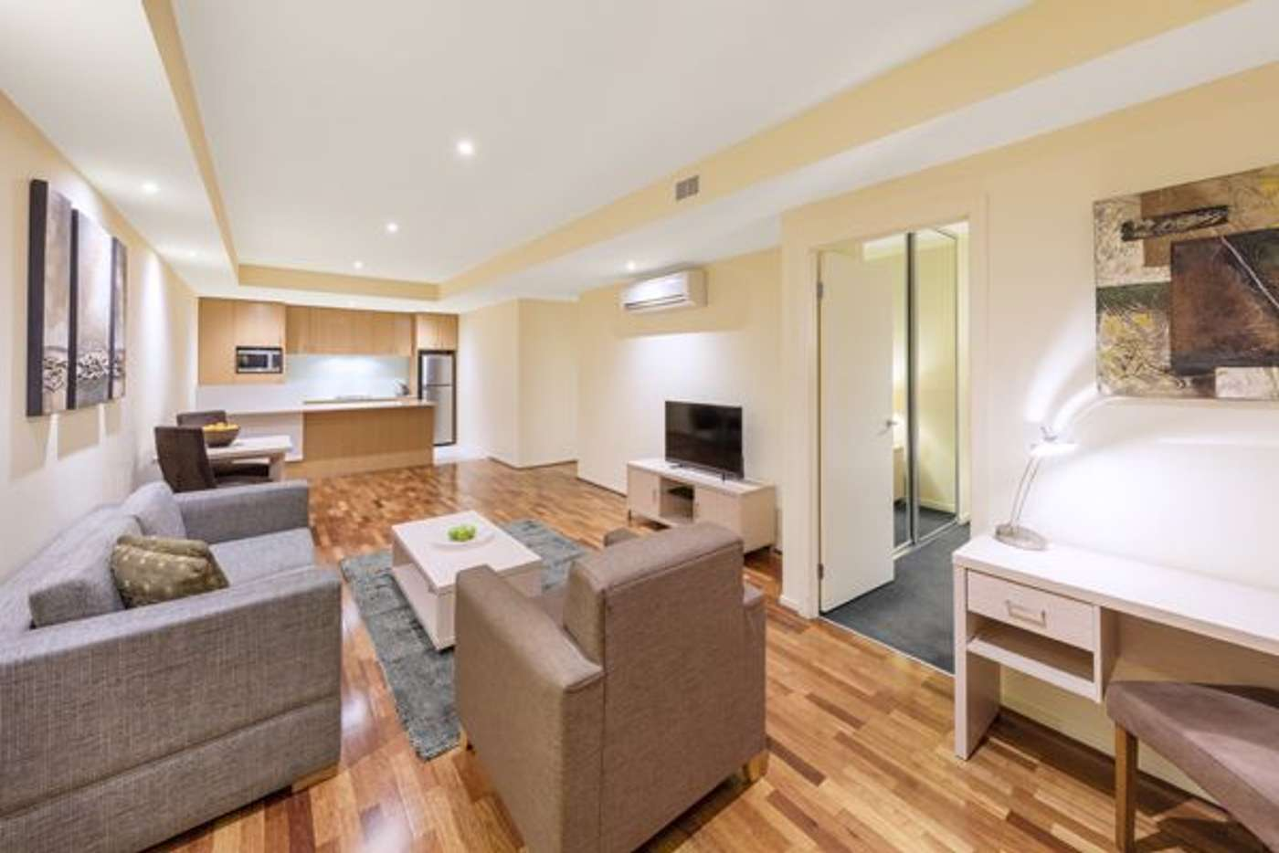 Main view of Homely apartment listing, 1Bed/23-33 Lonsdale Street, Melbourne VIC 3000