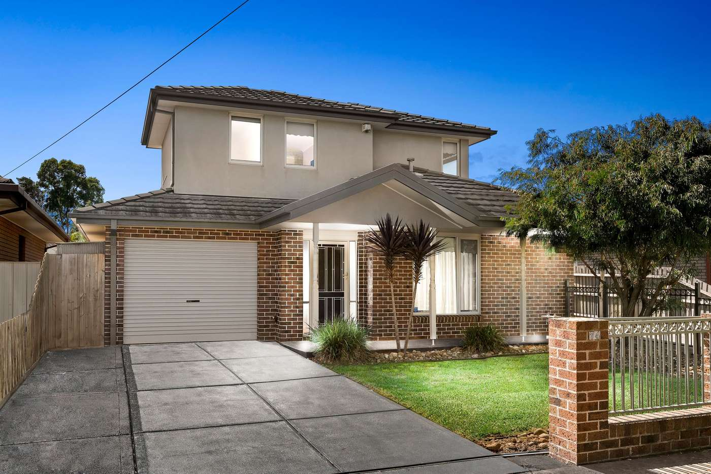 Main view of Homely townhouse listing, 1/74 King Street, Airport West VIC 3042