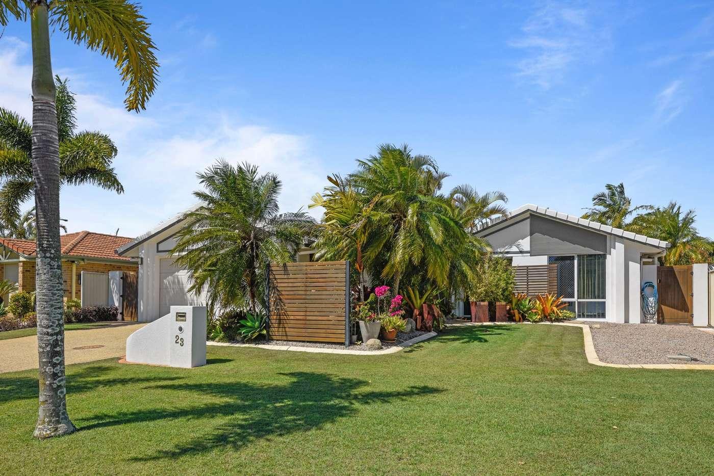 Main view of Homely house listing, 23 Catamaran Court, Banksia Beach QLD 4507