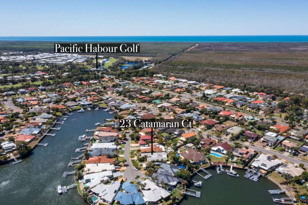 Second view of Homely house listing, 23 Catamaran Court, Banksia Beach QLD 4507