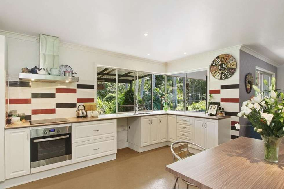Second view of Homely acreageSemiRural listing, 134 Mt Warning Rd, Uki NSW 2484