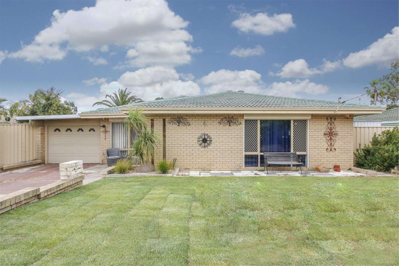 Main view of Homely house listing, 6 Hollingsworth Avenue, Koondoola, WA 6064