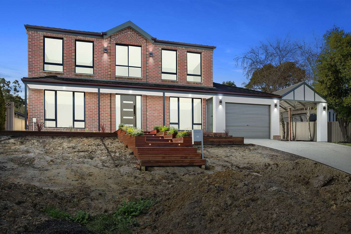 Main view of Homely house listing, 13 Oakbank Drive, Mount Helen VIC 3350