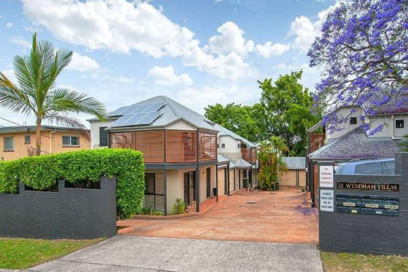 Main view of Homely townhouse listing, 1/22 Wyndham Street, Herston QLD 4006
