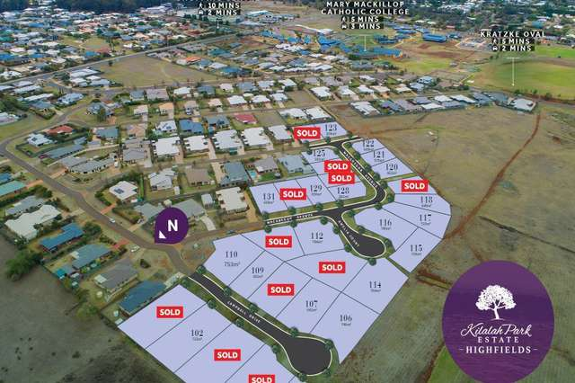 Stage 1B Kilalah Park Estate, Highfields QLD 4352
