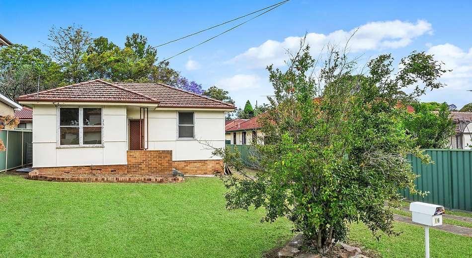 16 Macarthur Street, Ermington NSW 2115