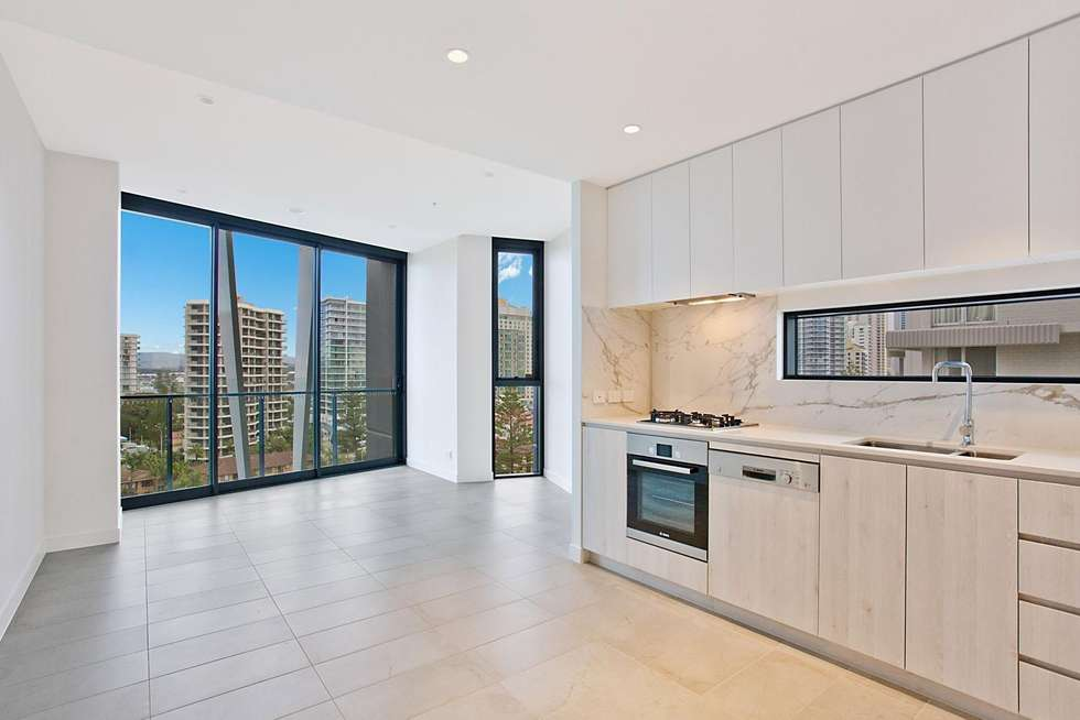 Second view of Homely apartment listing, 804/3 Northcliffe Terrace, Surfers Paradise QLD 4217