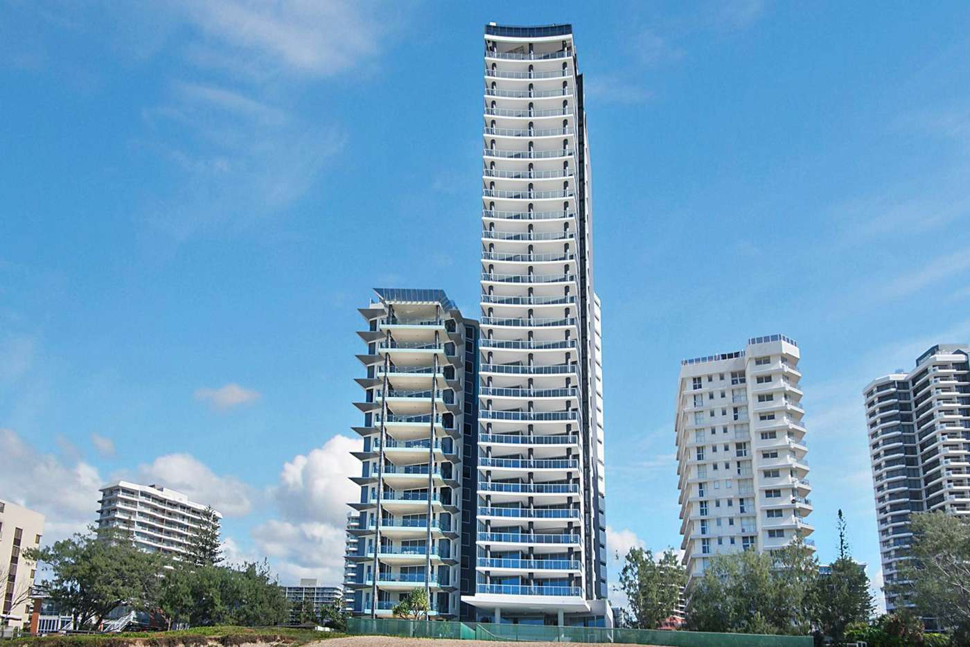 Seventh view of Homely apartment listing, 704/3 Northcliffe Terrace, Surfers Paradise QLD 4217