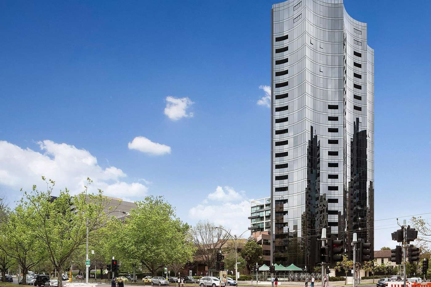 Main view of Homely apartment listing, 1004/454 St Kilda Road, Melbourne VIC 3004