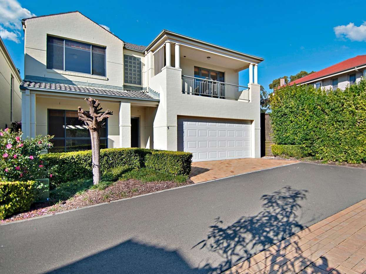 Main view of Homely townhouse listing, 5 Eighth Avenue, Carlingford, NSW 2118