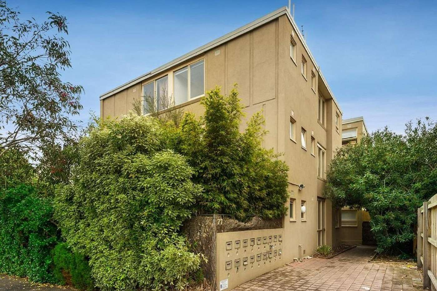 Main view of Homely apartment listing, 1/77 Hotham Street, St Kilda East VIC 3183