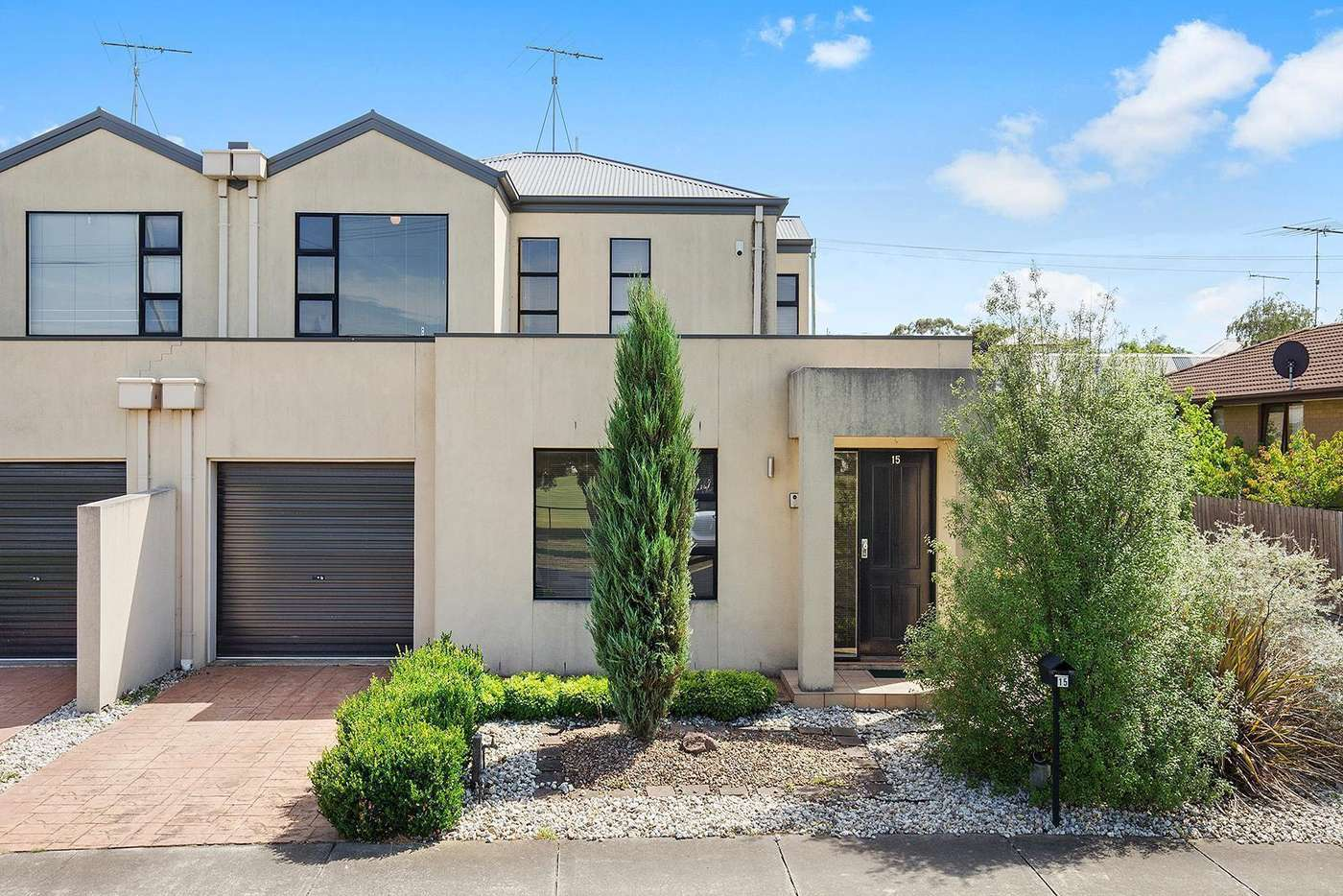Main view of Homely townhouse listing, 15 Richmond Crescent, Geelong VIC 3220