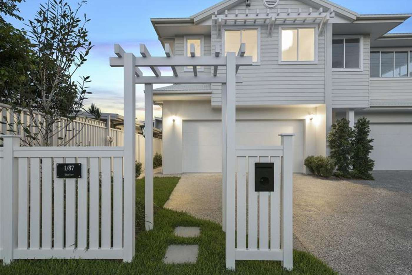 Main view of Homely townhouse listing, 1/87 Tahiti Avenue, Palm Beach QLD 4221