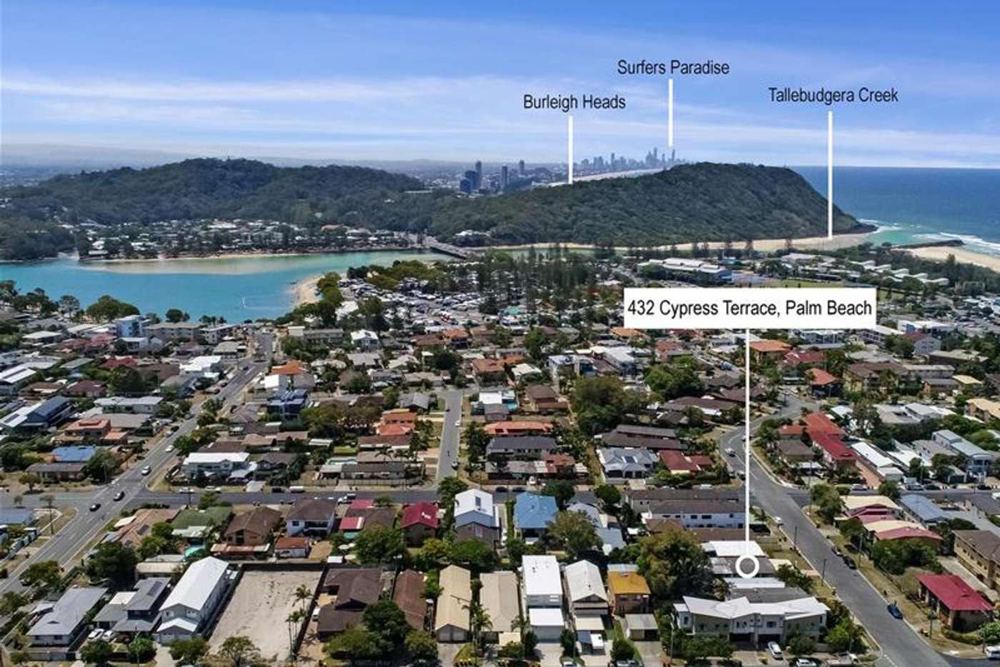 Main view of Homely house listing, 432 Cypress Terrace North, Palm Beach QLD 4221