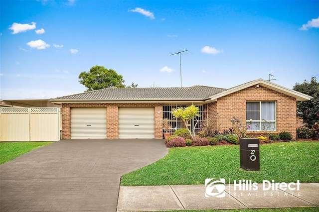 27 Ponytail Drive, Stanhope Gardens NSW 2768