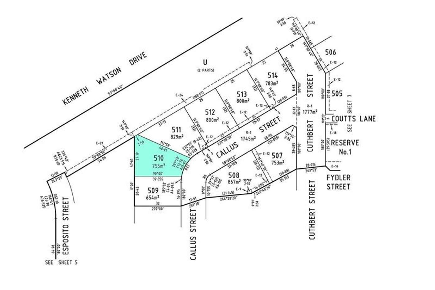 Main view of Homely residentialLand listing, 21 Callus Street, Killara VIC 3691