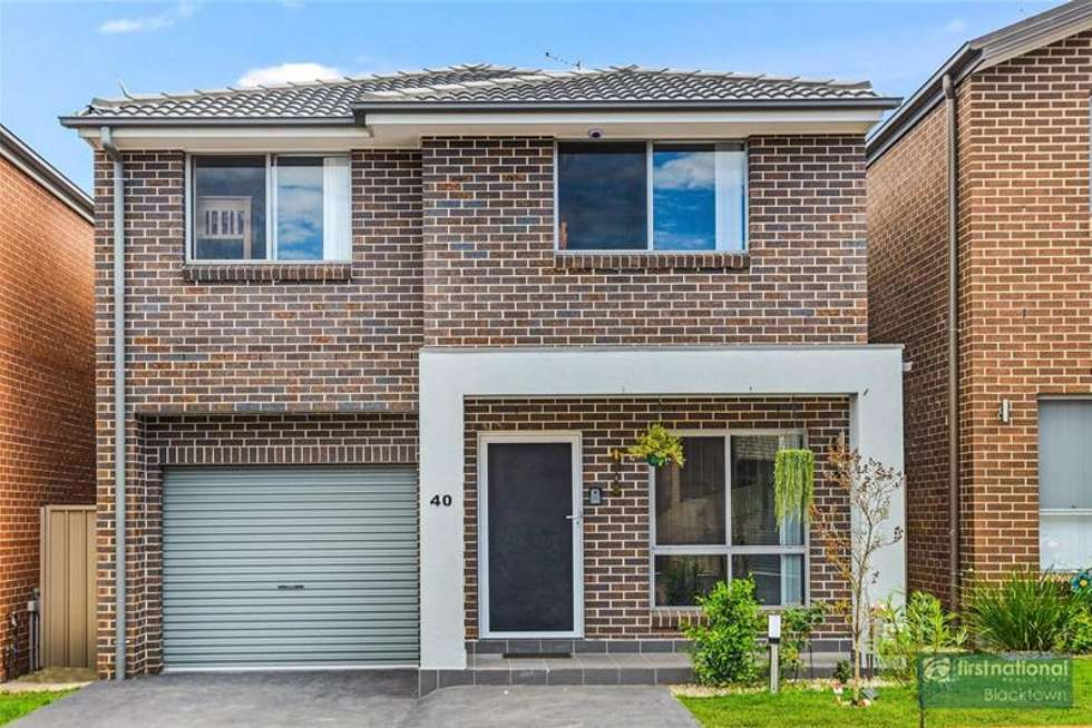 Second view of Homely townhouse listing, 40 Ludhiana Glade, Schofields NSW 2762