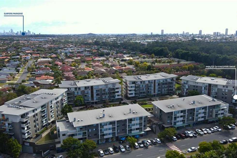 Second view of Homely apartment listing, 4405/12 Executive Drive, Burleigh Waters QLD 4220