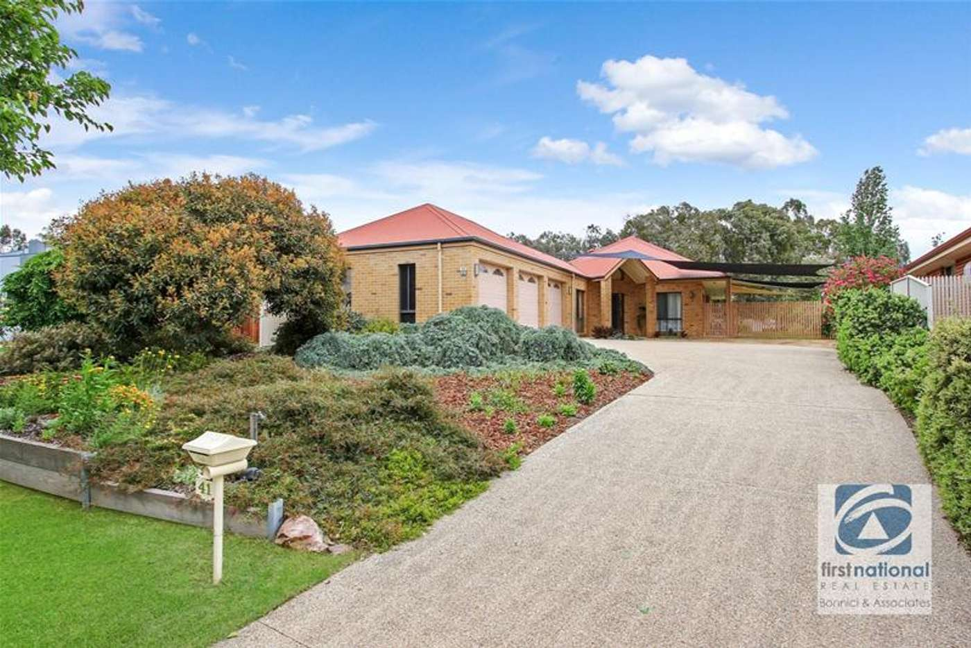 Main view of Homely house listing, 41 Memorial Drive, Wodonga VIC 3690