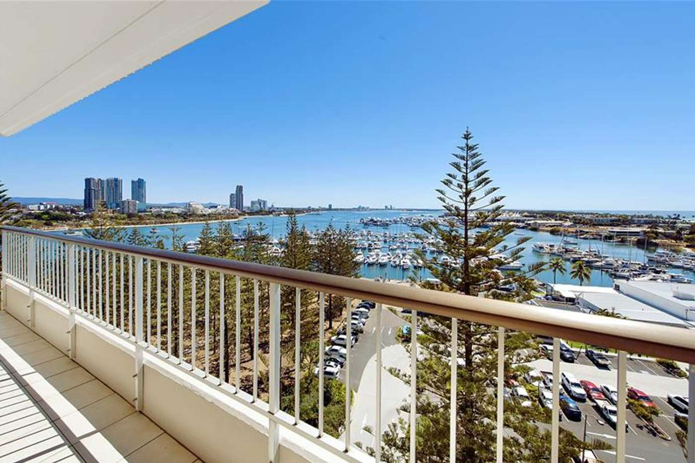 Main view of Homely apartment listing, 'YACHTING TOWERS' 18 Macarthur Parade, Main Beach QLD 4217