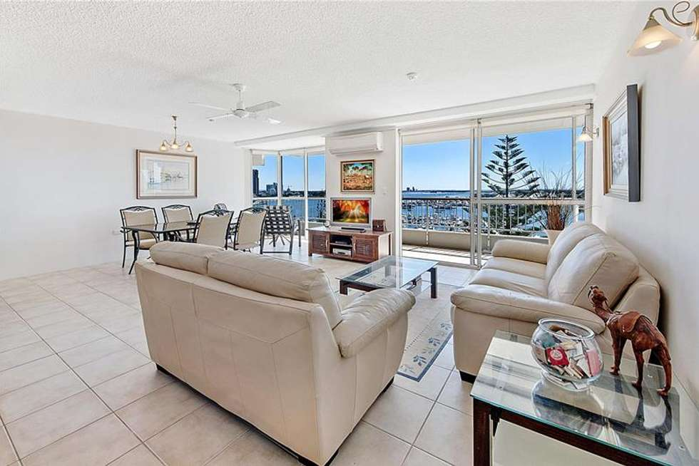 Second view of Homely apartment listing, 'YACHTING TOWERS' 18 Macarthur Parade, Main Beach QLD 4217