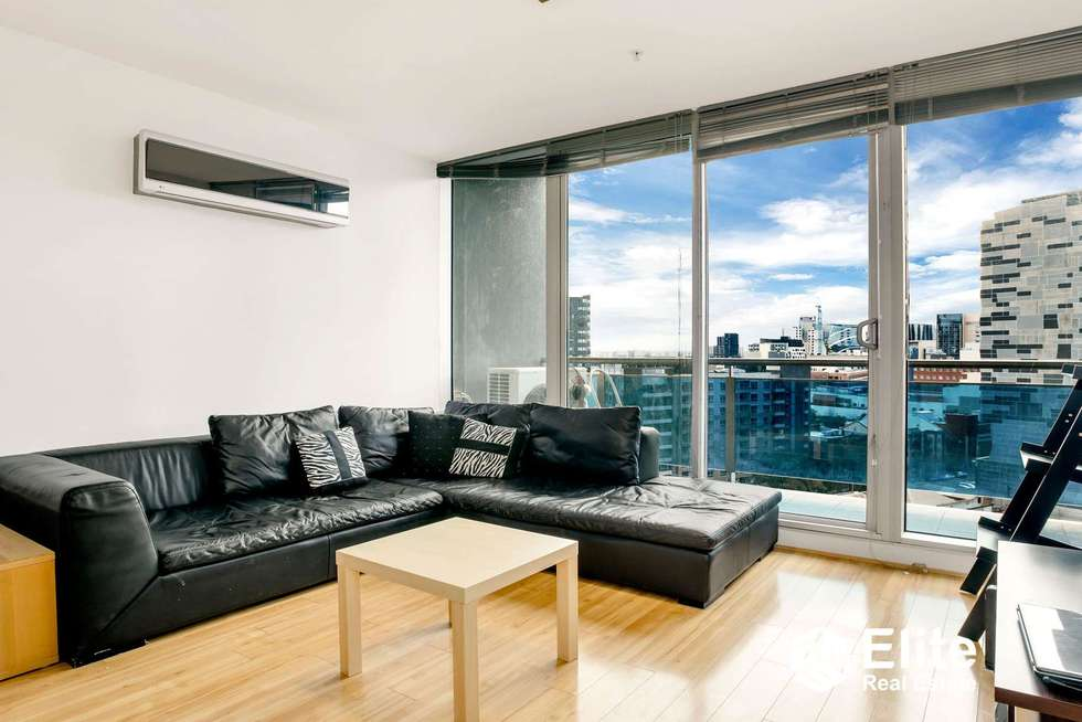 Second view of Homely apartment listing, 1106/483 SWANSTON STREET, Melbourne VIC 3000