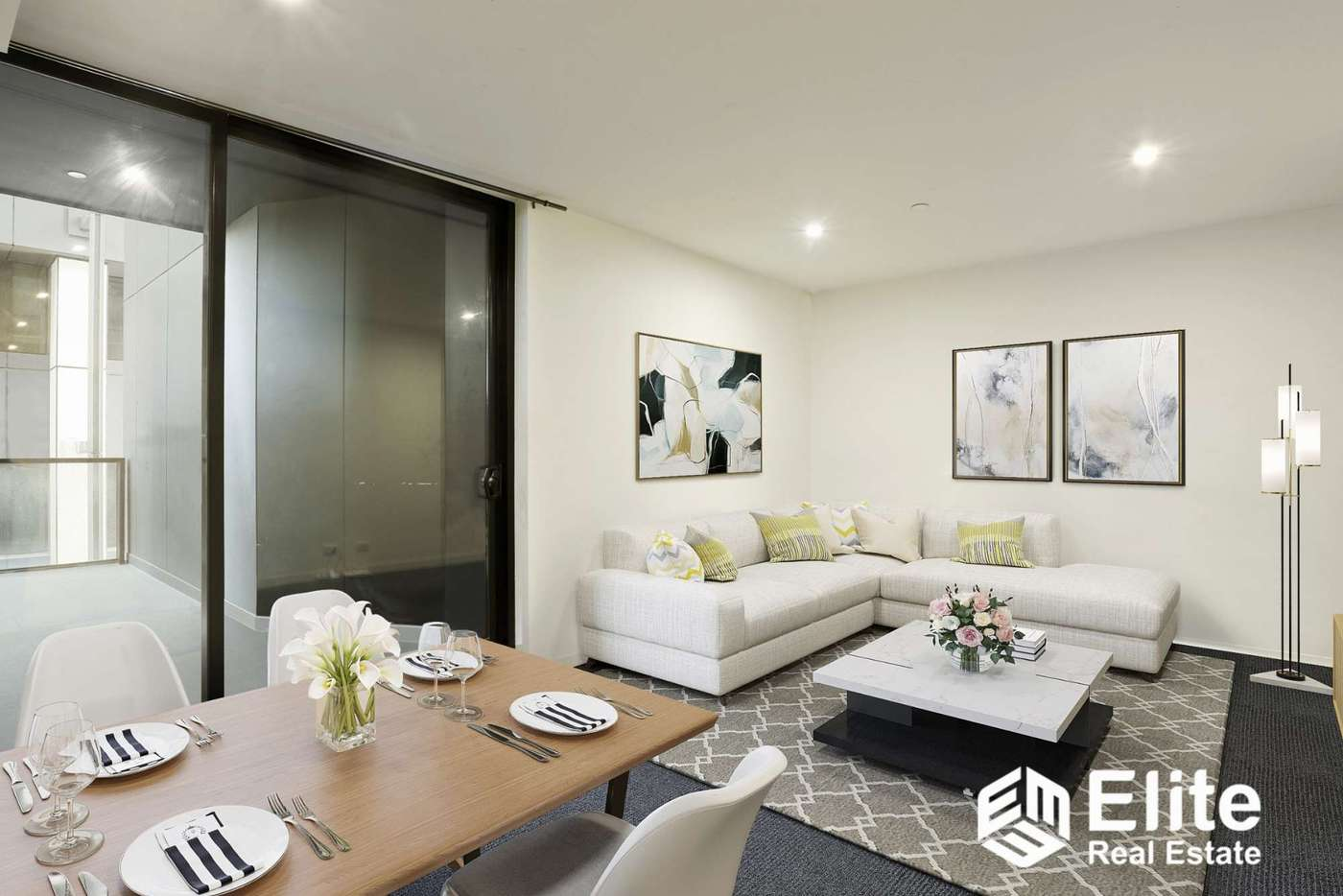 Main view of Homely apartment listing, 814/601 LITTLE COLLINS STREET, Melbourne VIC 3000