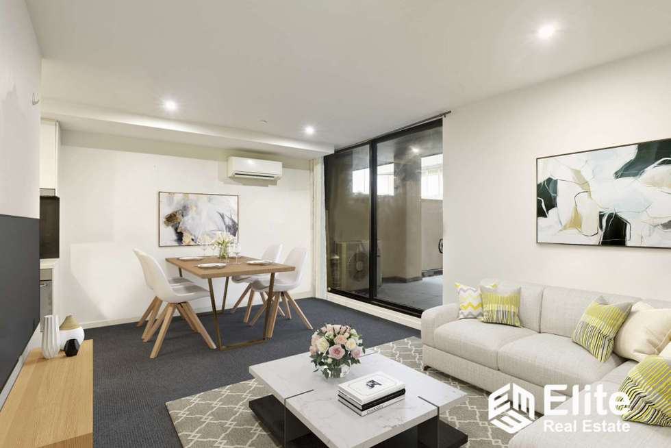 Second view of Homely apartment listing, 814/601 LITTLE COLLINS STREET, Melbourne VIC 3000