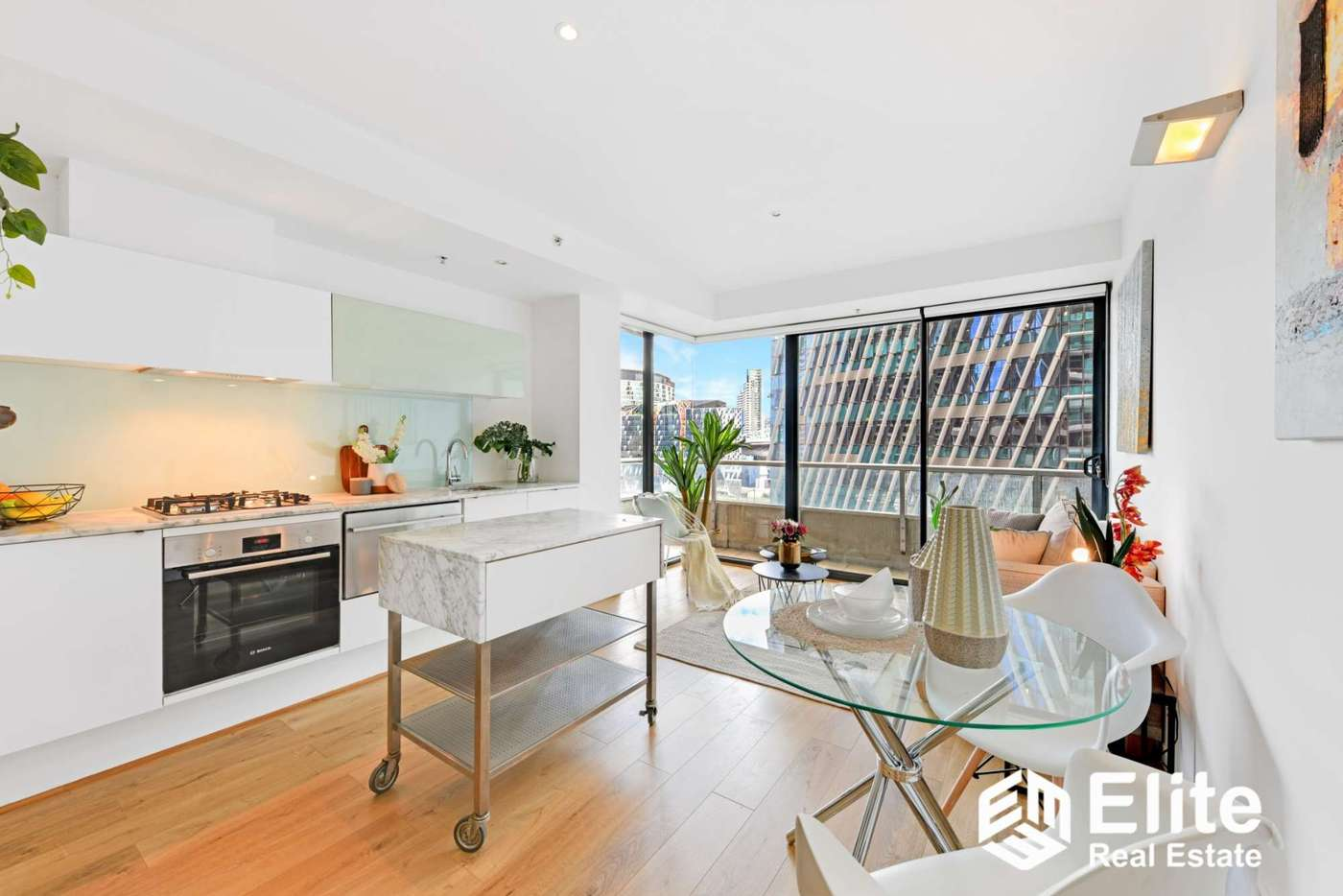 Main view of Homely apartment listing, 1004/280 SPENCER STREET, Melbourne VIC 3000