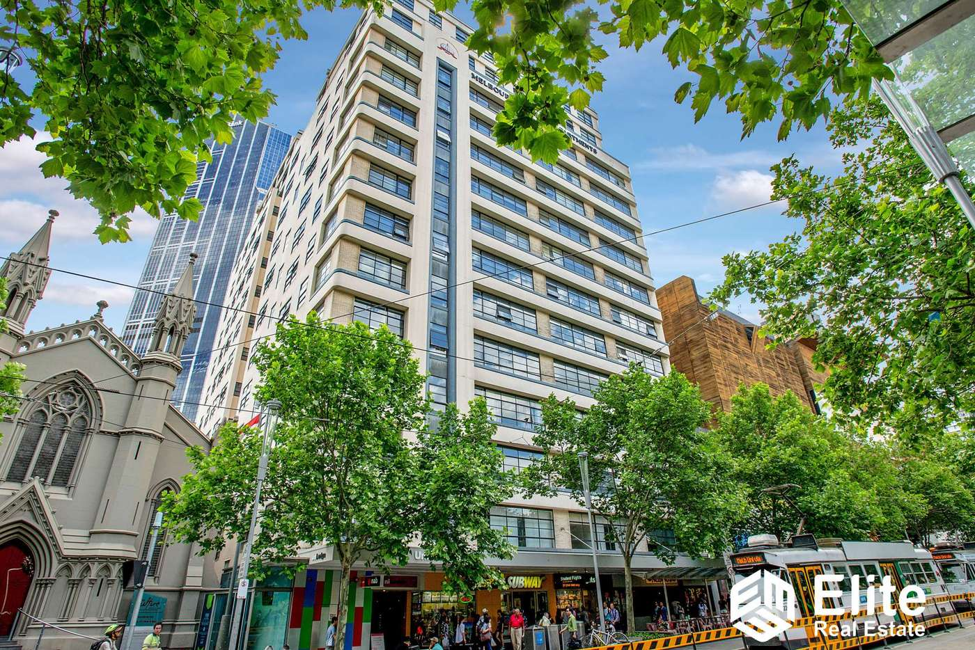 Fifth view of Homely apartment listing, 211/339 SWANSTON STREET, Melbourne VIC 3000