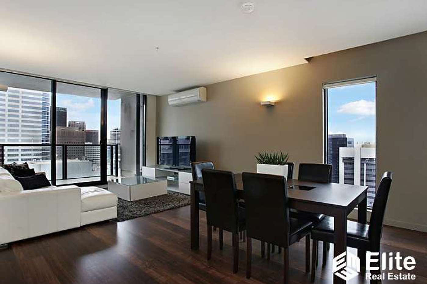 Main view of Homely apartment listing, 3505/200 SPENCER STREET, Melbourne VIC 3000