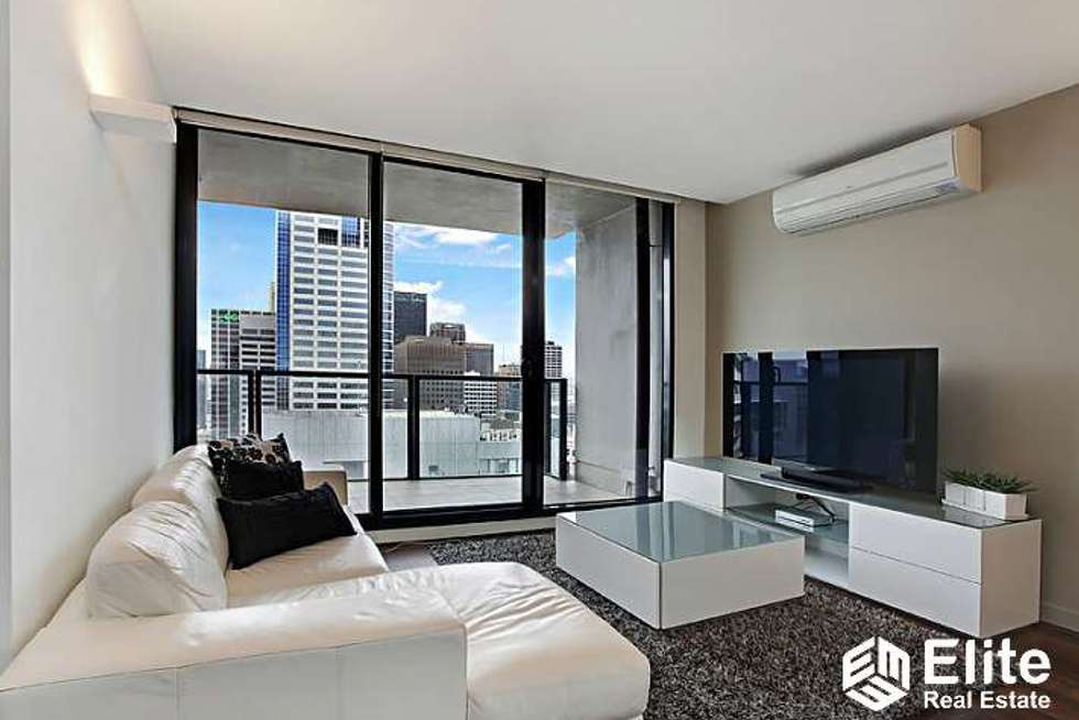Second view of Homely apartment listing, 3505/200 SPENCER STREET, Melbourne VIC 3000