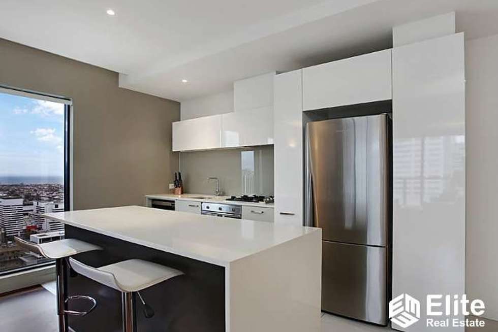 Third view of Homely apartment listing, 3505/200 SPENCER STREET, Melbourne VIC 3000