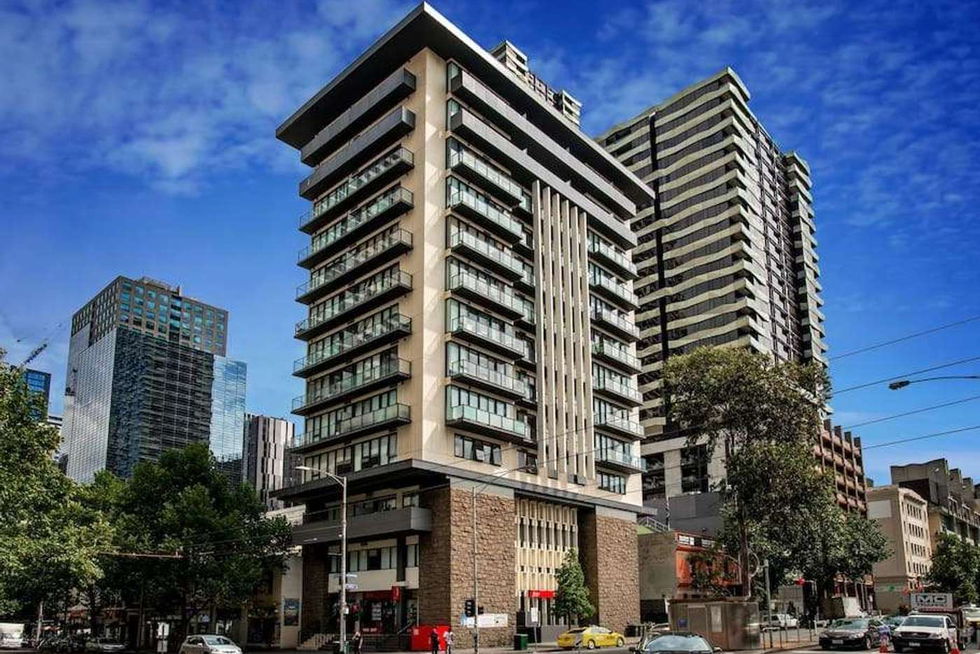 Main view of Homely apartment listing, 308/455 ELIZABETH STREET, Melbourne VIC 3000