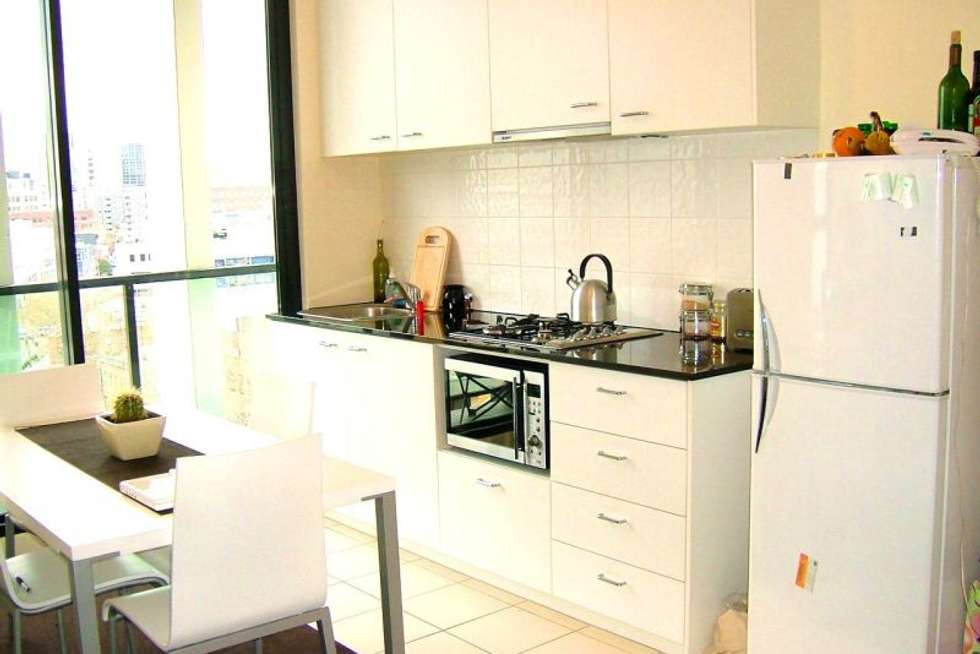Third view of Homely apartment listing, 308/455 ELIZABETH STREET, Melbourne VIC 3000
