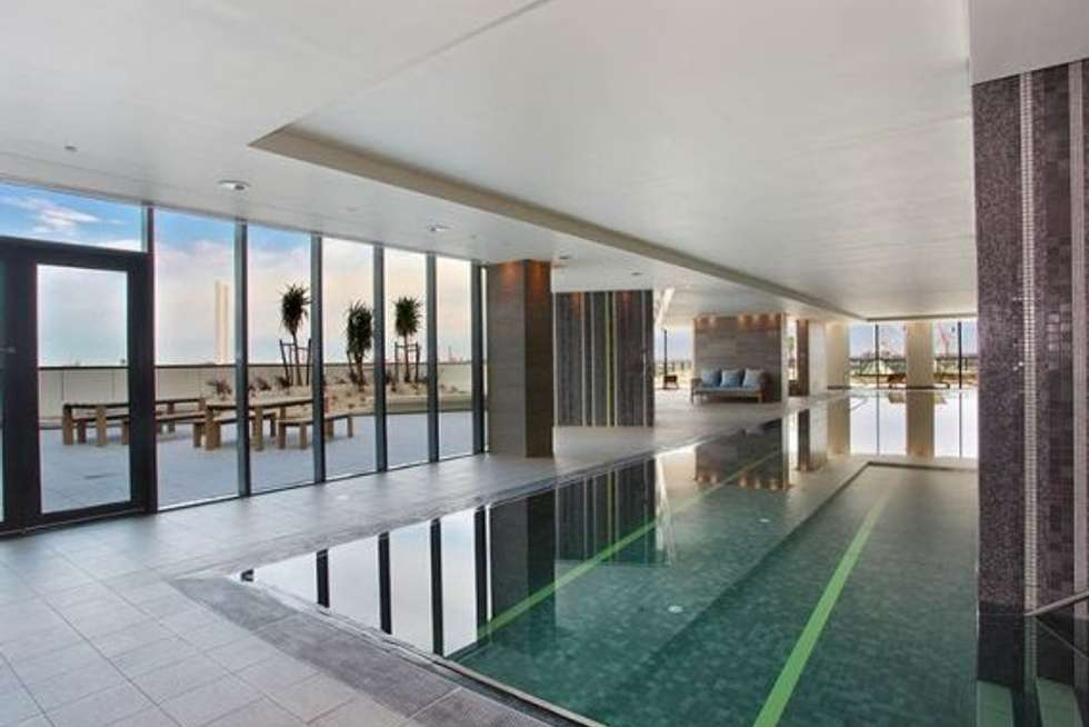 Second view of Homely apartment listing, 1H/8 WATERSIDE PLACE, Docklands VIC 3008