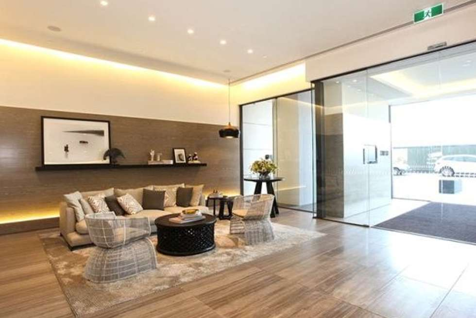 Third view of Homely apartment listing, 1H/8 WATERSIDE PLACE, Docklands VIC 3008