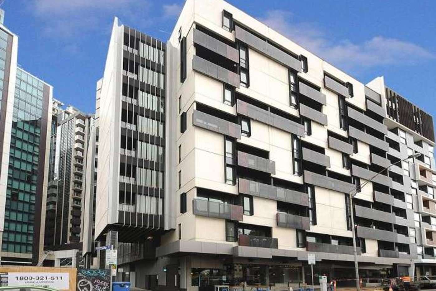 Main view of Homely apartment listing, 608/243 FRANKLIN STREET, Melbourne VIC 3000