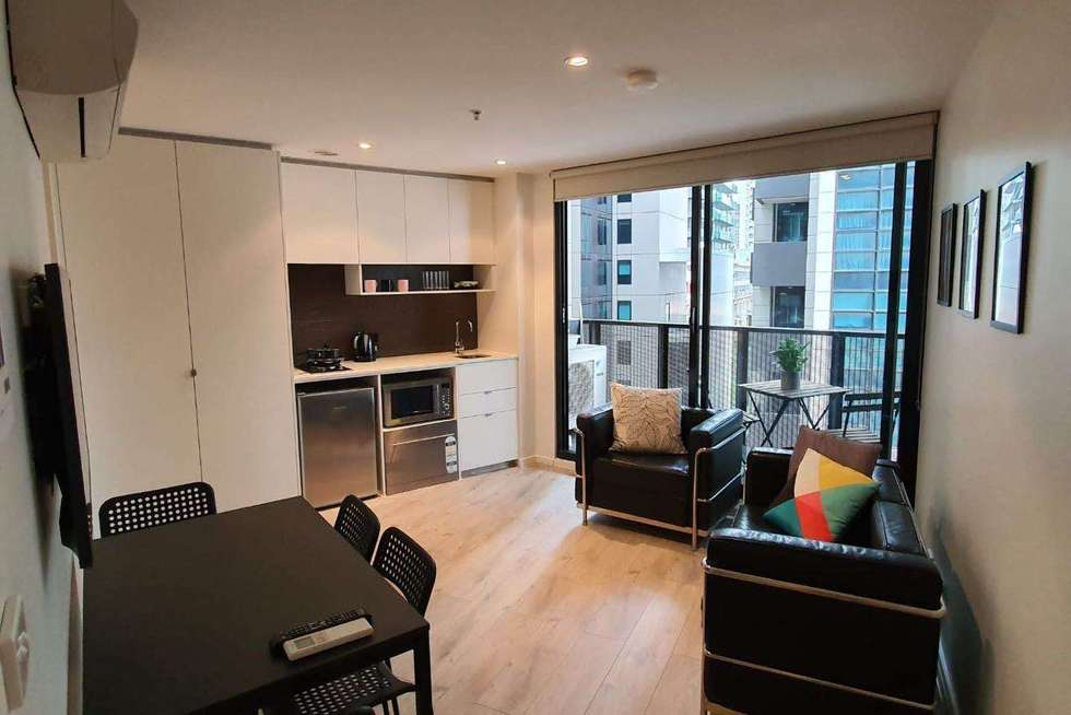 Second view of Homely apartment listing, 608/243 FRANKLIN STREET, Melbourne VIC 3000
